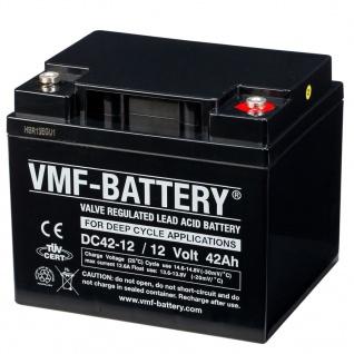 VMF AGM Deep Cycle Batterie 12 V 42 Ah DC42-12