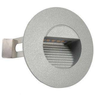 vidaXL Außenwandleuchten 6 Stk. LED 5 W Silbern Rund - Vorschau 3