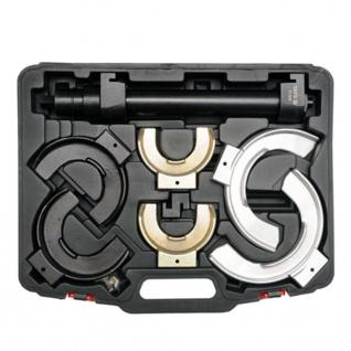 YATO Federspanner-Set mit auswechselbaren Federtellern
