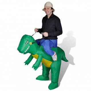 Dinosaurier Dino Kostüm Aufblasbar Faschingkostüm Karneval Party