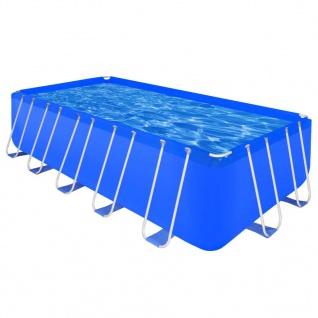 Schwimmanlage Stahlrahmen Rechteckig, Oberirdisch 12945 L