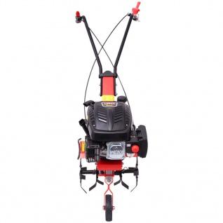 vidaXL Benzin Gartenfräse 5 PS 2, 8 kW Rot - Vorschau 5