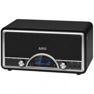 AEG DAB+ Radio mit RDS-Funktion NDR 4378 2×20 W Schwarz