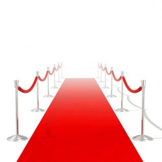 vidaXL Roter Teppich 1 x 10 m Extra Schwer 400 g/m²