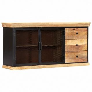 vidaXL Sideboard 150 x 40 x 75 cm Massivholz Mango