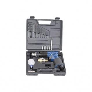"""Scheppach Umschaltbare Druckluft-Bohrmaschine mit Werkzeuge-Set 3/8"""""""