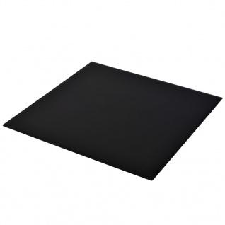 vidaXL Tischplatte aus gehärtetem Glas Quadratisch 800 x 800 mm