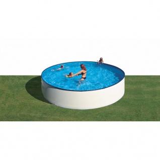 Gre Pool-Set Ibiza Rund Weiß 350cm KITWPR35