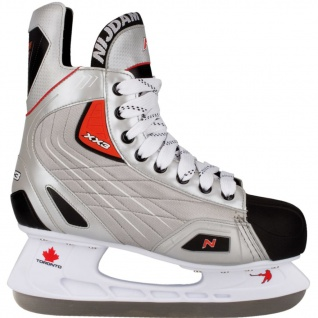 Nijdam Eishockey Schlittschuhe Gr. 44 Polyester 3385-ZZR-44