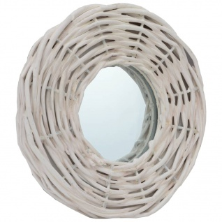 vidaXL Spiegel 3 Stk. Weiß 15 cm Weide - Vorschau 3