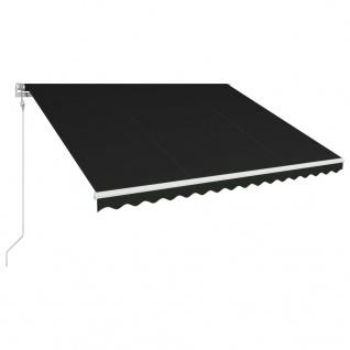 vidaXL Automatisch Einziehbare Markise 450×300 cm Anthrazit
