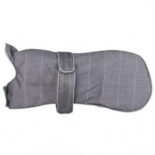 TRIXIE Wintermantel für Hunde Brest Größe XS 25 cm Grau 67810