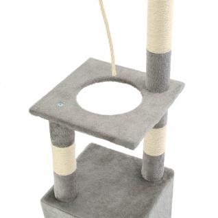 vidaXL Katzen-Kratzbaum mit Sisal-Kratzsäulen 109 cm Grau - Vorschau 5