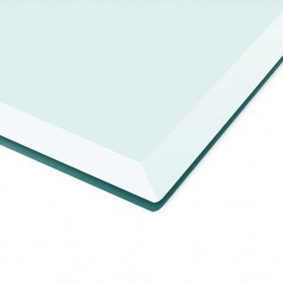vidaXL Tischplatte aus gehärtetem Glas quadratisch 800x800 mm - Vorschau 3