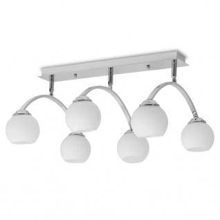 vidaXL Deckenleuchte für 6 G9-Glühlampen 240 W