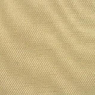 vidaXL Sonnensegel Oxford Gewebe Rechteckig 4 x 6 m Beige - Vorschau 2