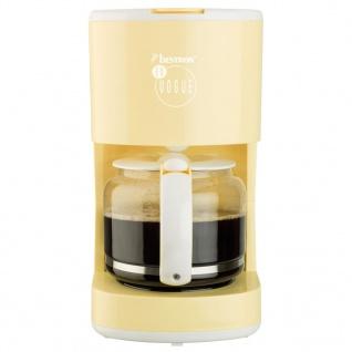 Bestron Kaffeemaschine 1080 W Vanillegelb ACM300EVV - Vorschau 4