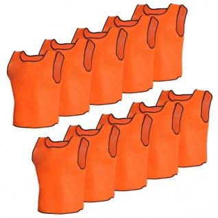Orange Sportsshirts Sportweste für Erwachsene 10 Stück - Vorschau 1