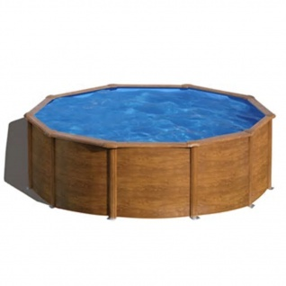 Gre Pool-Set Pacific Rund Braun 350cm KIT350WB
