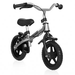 Baninni Laufrad Wheely Schwarz und Silbern BNFK012-SI