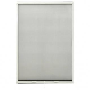 vidaXL Insektenschutzrollo für Fenster Weiß 110x170 cm