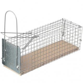 Nature Ratten-Lebendfalle 27, 5 x 9, 5 x 9, 5 cm 6060105