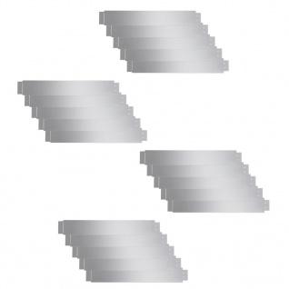 Flexible Rasenkante 20-er Set 100x15 cm Verzinkter Stahl - Vorschau 2