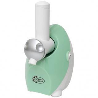 Bestron Eismaschine für Sorbet und Frozen Yoghurt 150 W AFDM1301