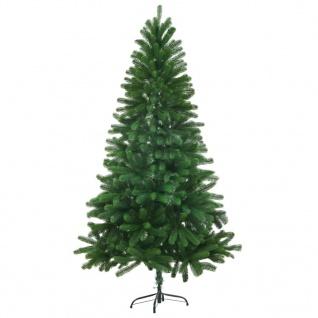 vidaXL Künstlicher Weihnachtsbaum Naturgetreue Nadeln 150 cm Grün