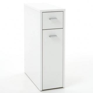 FMD Schubladenschrank mit 2 Schubladen 20x45x61 cm Weiß 930-001