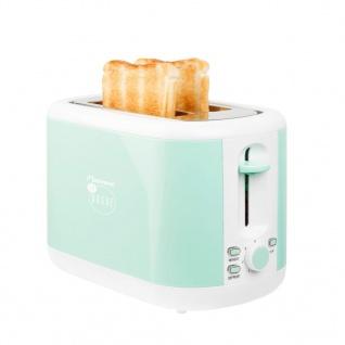 Bestron Toaster Minzgrün 930 W ATS300EVM