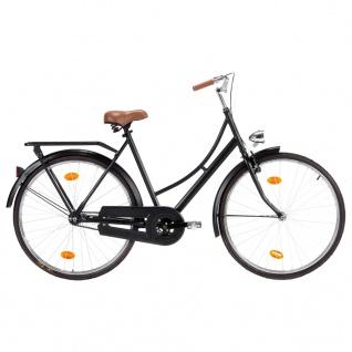vidaXL Hollandrad 28 Zoll Rad 57 cm Rahmen Damen