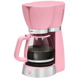 Clatronic Kaffeemaschine KA 3689 1, 7 L 1000 W Rosa