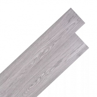 vidaXL PVC Laminat Dielen Selbstklebend 5, 02 m² 2 mm Dunkelgrau