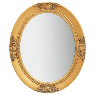 vidaXL Wandspiegel im Barock-Stil 50 x 60 cm Golden