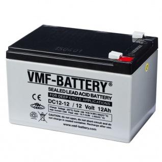 VMF AGM Deep Cycle Batterie 12 V 12 Ah DC12-12