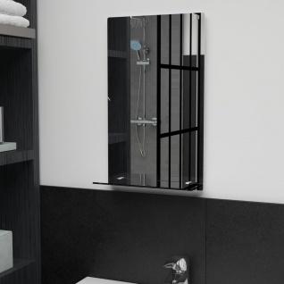 vidaXL Wandspiegel mit Regal 30×50 cm Hartglas