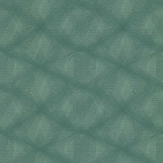 couleurs & matières Tapete Diamond Lines Grün