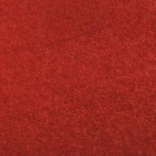 vidaXL Roter Teppich 1x5 m Extra Schwer 400 g/m² - Vorschau 5