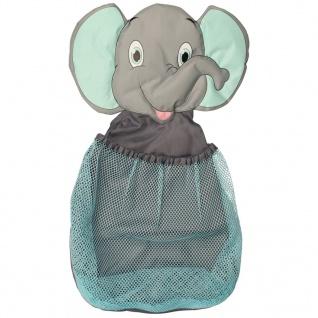 Bo Jungle B-Bath Spielzeug-Aufbewahrungsnetz Elefant Blau B900310