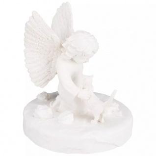 TRIXIE Gedenkstein Katze mit Engel Weiß 38419