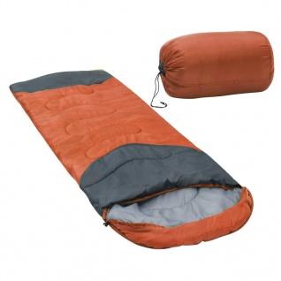 vidaXL Schlafsack Orange 10? 1000g