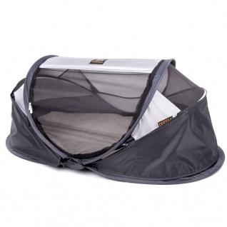 DERYAN Windschutz für Reisebetten Baby Luxe 100x30x0, 5 cm Grau