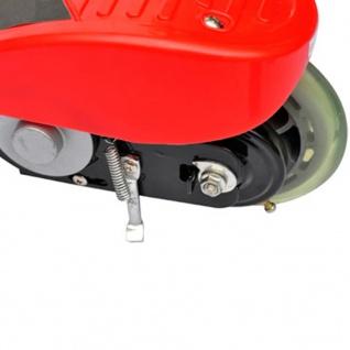 vidaXL Elektroroller klappbar 120 W Rot - Vorschau 3