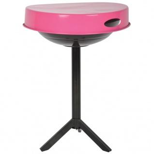 Esschert Design 3in1 Grill und Tisch Karbonstahl Rosa FF250