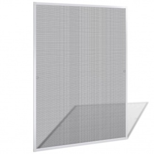 Insektengitter für Fenster 120 x 140 cm weiß