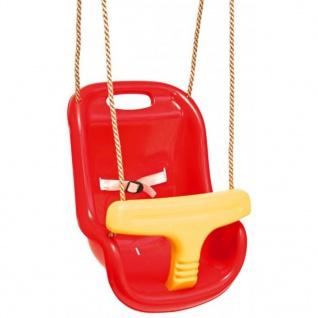 Swing King Schaukelsitz Baby Comfort rot/gelb 2521050