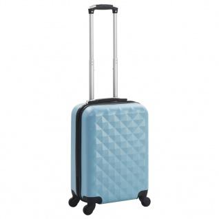 vidaXL Hartschalen-Trolley Blau ABS