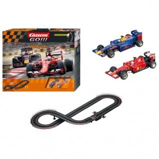 Carrera Autorennbahn-Set Go Win It Rot und Blau 62392