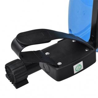 vidaXL Magnetischer Heimtrainer X-Bike mit Pulsmessung Schwarz Blau - Vorschau 3